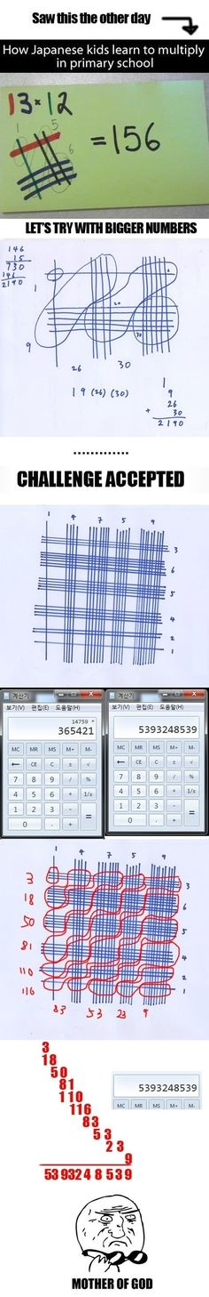 Japanese Math  - funny pictures #funnypictures