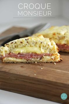Croque Monsieur Recipe - Such a perfect lunch or supper during the week or on special days!  from addapinch.com