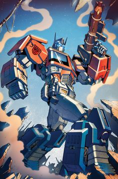 Transformers RID #6 cover colors by *khaamar on deviantART