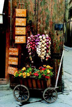 ~A deli door in Arezzo,province of Arezzo Tuscany  Italy.  by Luan Cox~