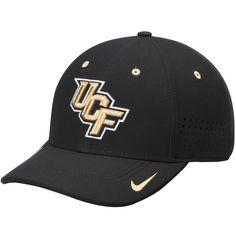 online store a737b 810b6 UCF Knights Nike Sideline Swoosh Performance Flex Hat - Black