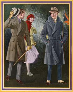 Moda masculina años 20.