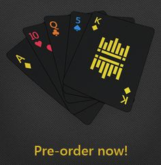 NOX playing cards.