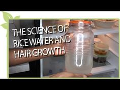 The Science of RICE WATER and natural hair growth - YouTube