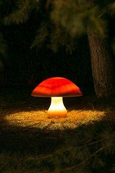 The Fossilised Mushroom designed by Eleftherios Ambatzis. Lamp made in Onyx marble.  Dimensions: 65/65/50 cm Onyx Marble, Stuffed Mushrooms, Objects, Design, Stuff Mushrooms