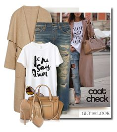 """Get the Look: Cool Coats"" by fashion-architect-style ❤ liked on Polyvore featuring moda, R13, River Island e Shoe Republic LA"
