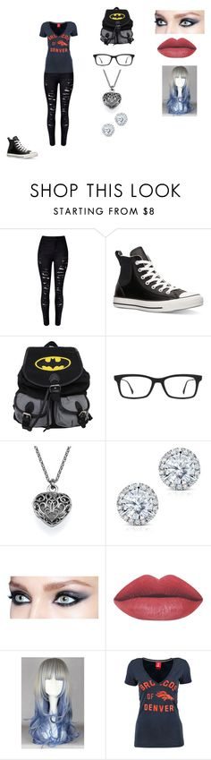 """""""Untitled #386"""" by nala1220 on Polyvore featuring Converse, Ray-Ban, Kobelli, NIKE, women's clothing, women, female, woman, misses and juniors"""