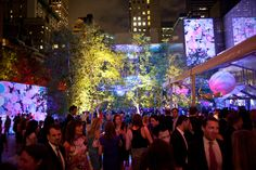 The Museum of Modern Art's annual garden party on Tuesday night drew top donors…