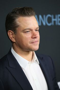 "Actor and producer Matt Damon attends the premiere of Amazon Studios' ""Manchester By The Sea"" at Samuel Goldwyn Theater on November 14, 2016 in Beverly Hills, California"