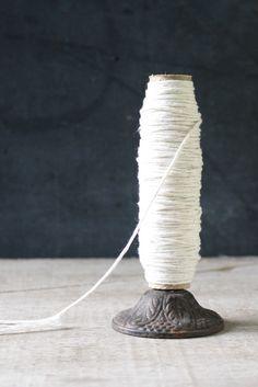 Cotton Twine Remnant Spool