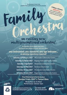 Family Orchestra Flyer (Updated)
