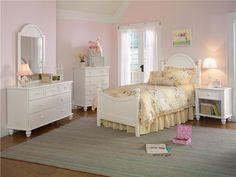 Hillsdale Furniture Bedroom Westfield Bed - Twin, Rails, Nightstand, Dresser, Mirror, And Chest 1354TW5SET - Great Deals Augusta - Martinez, GA