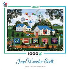 Patchwork Sampler - 1000 Piece Jigsaw Puzzle