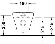 42084a762857 DuraStyle Toilet wall mounted Duravit Rimless®  253809