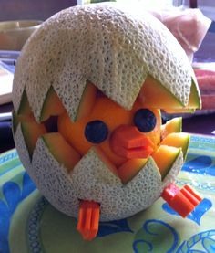"""Hatching Duckling Fruit 