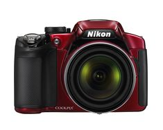 Amazon.com : Nikon COOLPIX P510 16.1 MP CMOS Digital Camera with 42x Zoom NIKKOR ED Glass Lens and GPS Record Location (Red) : Point And Shoot Digital Cameras : Camera & Photo
