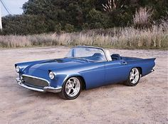 1957 Blue Thunderbird Custom...'57 was a very good year!