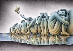 Los Gigantes by Ben Heine