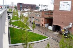 West 8, Engels Plein, Belgium, urban renovation, urban renewal, green spaces, urban design, Rotterdam design studio, human scale, public spaces