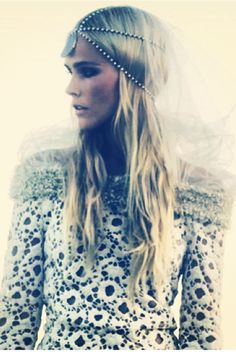 Isabel Lucas | My Muse  #love #bohemian # Headpeice  www.graceloveslace.com.au xx