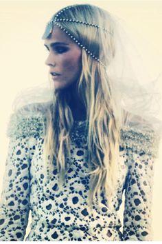 Isabel Lucas   My Muse  #love #bohemian # Headpeice  www.graceloveslace.com.au xx