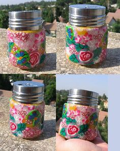 fimo in a jar
