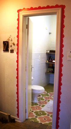 moldura de porta, boa ideia!
