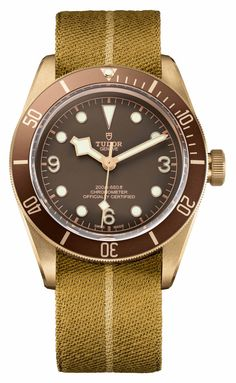 Tudor Heritage Black Bay Bronze 79250BM Watch With In-House Movement Watch Releases