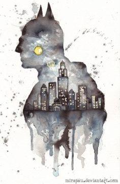 Gotham cityscape