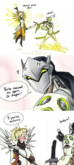 mercy and genji:)