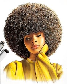 Black art in 2019 black women art, black art pictures, black art. Black Love Art, Black Girl Art, Black Is Beautiful, Art Girl, Black Girls, Natural Hair Art, Natural Hair Styles, Afrique Art, Black Girl Cartoon