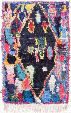 Scrungy rug