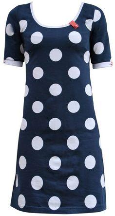 55c3a329 My blue spot regular - dress Rockabilly, Polkaprikker, Symønstre,  Vintagemode, Dress Outfits