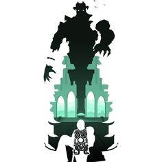 Colossus - Malus T-Shirt Landscape Concept, Game Concept Art, Video Game Art, Conceptual Art, Totoro, Pixel Art, Cool Art, Memes, Creatures
