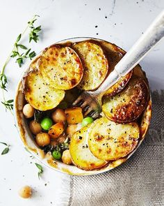 Veggie Pot Pies with