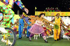 Arte milenar do circo e lenda do Tepequém são temas de quadrilhas do grupo especial #pmbv #prefeituraboavista #boavista #roraima