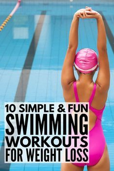 This collection of 10 fabulous swimming workouts for weight loss is perfect for beginners (and for runners!) who are trying to get back in shape and don't want to spend their entire day swimming laps. These workout plans will help you get the abs of your Quick Weight Loss Tips, Weight Loss Help, Weight Loss Snacks, Losing Weight Tips, Weight Loss Plans, Weight Loss Program, How To Lose Weight Fast, Weight Gain, Reduce Weight