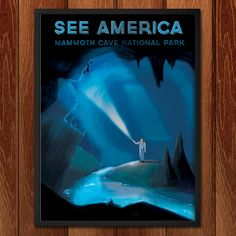 See America poster series — Mammoth Cave