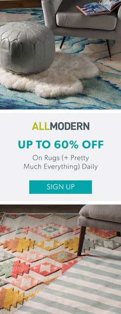Rugs - Sign up now for FREE SHIPPING on orders over $49 at allmodern.com!