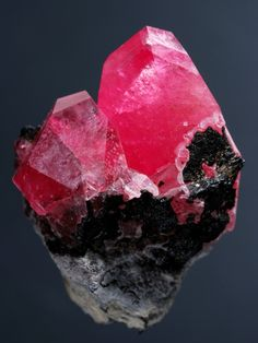 Crystalized minerals.