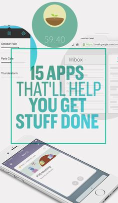15 Apps That'll Make You Insanely Productive  These are actually super cool! Def a fav