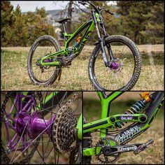 Bike check: @lluislacondeguy 's fully Hope'd up YT Image @nikittas_photo #hopetech #ytindustries #dh #mtb #bikecheck