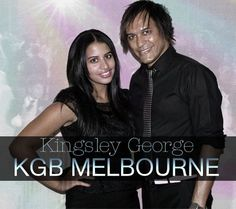 Kingsley George with Singer Kirstie Jones - Melbourne Wedding Live Music Bands