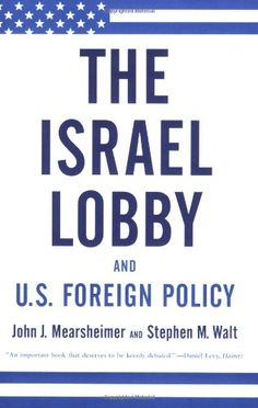 The Israel Lobby and U.S. Foreign Policy by John J. Mearsheimer $9 http://www.amazon.com/dp/0374531501/ref=cm_sw_r_pi_dp_fyq.tb122RBMQ
