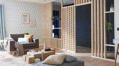 Le claustra de bois, cette séparation nature et moderne - M6 Deco.fr