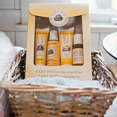 Clean your little ones in the soothing freshness of Burts Bees Baby Bee products from the Cracker Barrel Old Country Store.