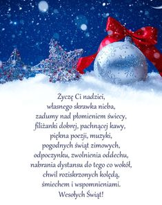 Życzenia świąteczne Christmas Wishes, Christmas Time, Merry Christmas, Holiday, Handmade Gifts, Diy And Crafts, Greeting Cards, Skinny, Fotografia