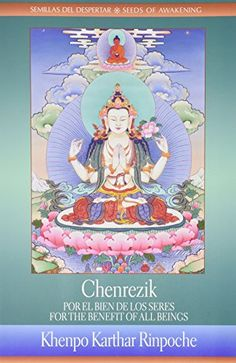 Chenrezik For the Benefit of all Beings  ChenrezikPor El Bien de los Seres Semillas Del Despertar  Seeds of Awakening -- Read more reviews of the product by visiting the link on the image.