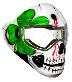 Crazy Paintball Mask