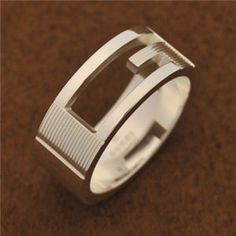 GUCCI(グッチ) 032660 09840 8106 11 リング Jewerly, Rings For Men, Wedding Rings, Engagement Rings, Products, Fashion, Enagement Rings, Moda, Jewlery